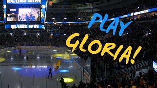 Play Gloria! This is what it looked like in St. Louis when the Blues won Game 5 in Boston