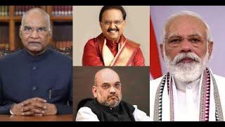 Political leaders condole SP Balasubrahmanyam's death..