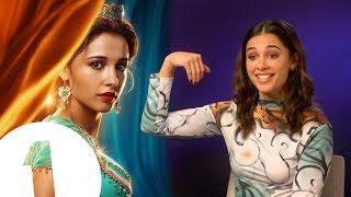 """So... I'm Jasmine!"" Aladdin's Naomi Scott on meeting Will Smith and the art of magic carpet riding"