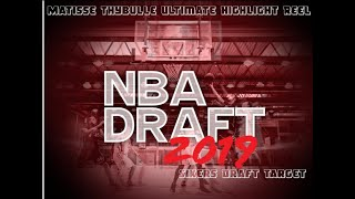 Ultimate Matisse Thybulle Highlights - Sixers Draft Target