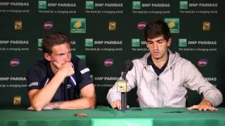 2016: ATP Doubles Champions Press Conference