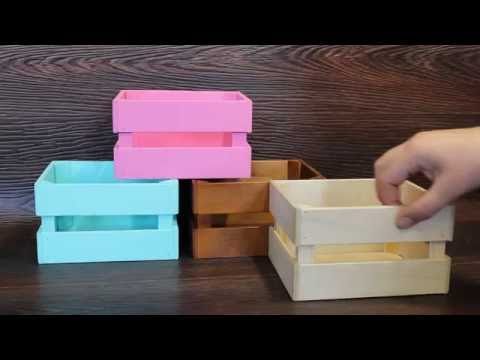 Ящики декоративные деревянные для цветов 65