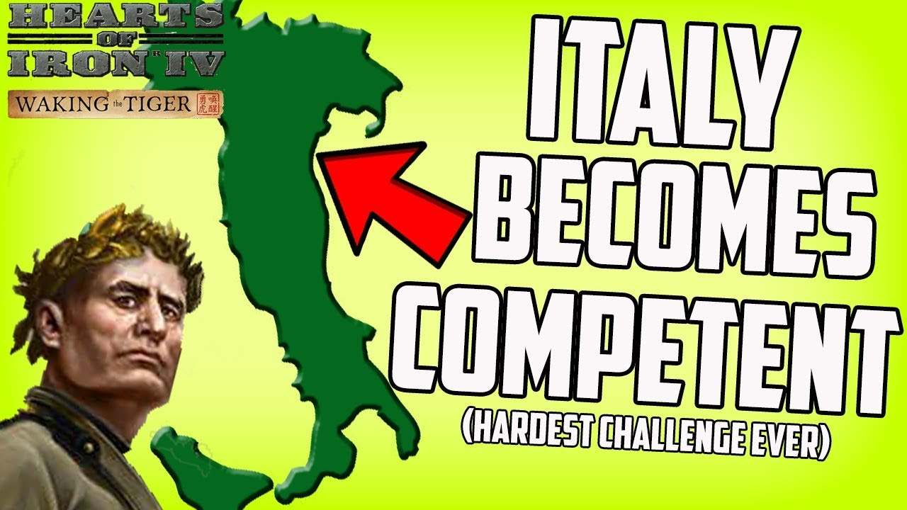 Unbeatable Mussolini?! World of Alternatives Hearts of Iron 4 HOI4 Mod  Gameplay