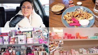 VLOG - Follow Me: Car Chat, Food & Shop With Me!