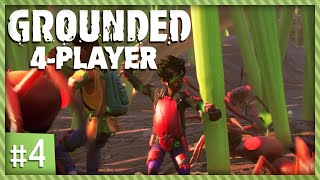 ATTACK THE ANTS! - Grounded #4 (Multiplayer Gameplay)