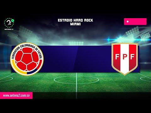 Colombia vs Perú EN VIVO