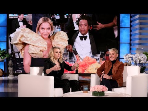 Beyoncé & Jay-Z Left Kate McKinnon Speechless at the Golden Globes