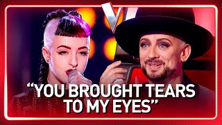 "Boy George's ""little sister"" in The Voice 