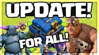 Clash of Clans UPDATE FOR EVERYONE - Town Hall 12 update | CoC |