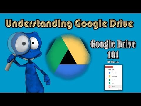Understanding Google Drive - Google Drive 101