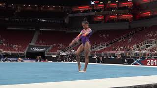 Annalise Newman-Achee – Floor Exercise – 2019 GK U.S. Classic – Junior Competition