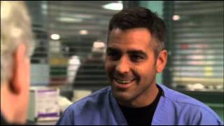 george clooneys best scene from ER