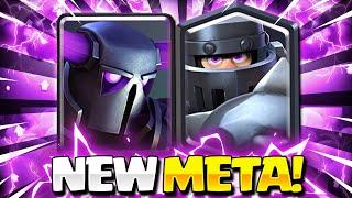 #1 UNSTOPPABLE NEW META COMBO! MEGA KNIGHT + PEKKA IS INSANE!! Clash Royale Mega Knight Pekka Deck
