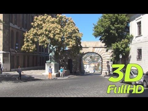 [3DHD] Walking Tour/Gyalogtúra: Around Matthias Church / Körül Mátyás templom, Budapest, Hungary