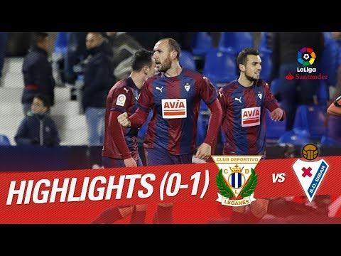 Eibar vs Leganés