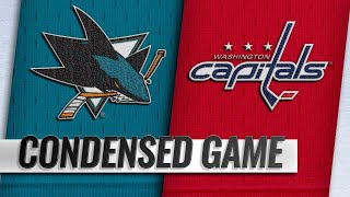 01/22/19 Condensed Game: Sharks @ Capitals