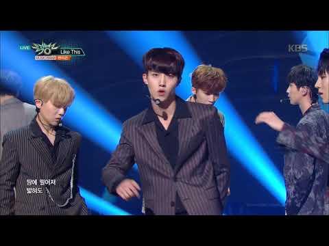 뮤직뱅크 Music Bank - Like This - 펜타곤 (Like This - PENTAGON).20170915