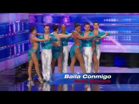 America's Got Talent 2014 - Auditions - Baila Conmigo