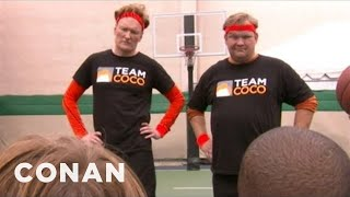 The 2032 Dream Team Gets Dominated By Team Coco - CONAN on TBS