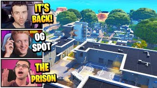 Streamers React To *NEW* MOISTY PALMS & OG PRISON In Game