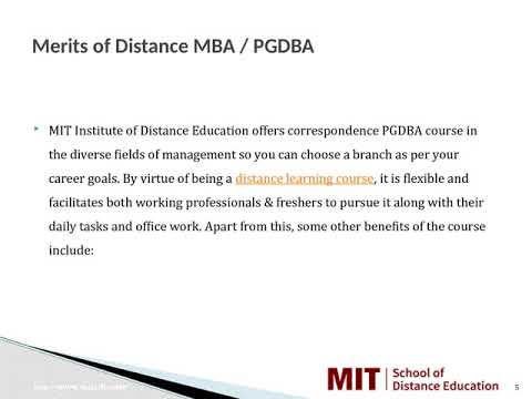 Distance Management Courses | Correspondence MBA | Distance MBA in Ankleshwar