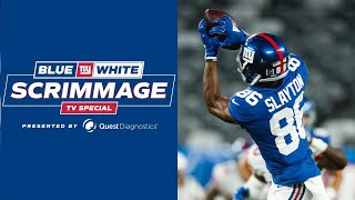 Blue-White Scrimmage Highlights; Joe Judge Mic'd Up | New York Giants