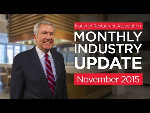 The National Restaurant Association's Hudson Riehle provides an update on the latest Restaurant Performance Index and other economic indicators. Visit http://www.restaurant.org/research for all the latest restaurant industry news and insights.
