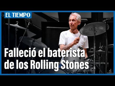 Murió a los 80 años Charlie Watts, el baterista de los Rolling Stones