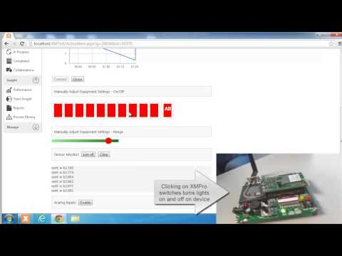 XMPro Internet of Things Demo