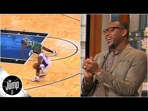 Tracy McGrady convinces producers to show video of Paul Pierce getting ankles broken   The Jump