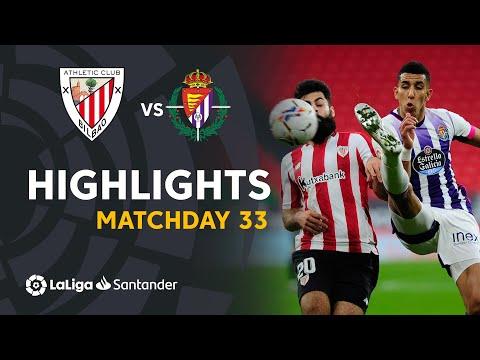 ⚽ HIGHLIGHTS I Athletic Club 2-2 Real Valladolid I LaLiga Matchday 33