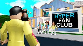 She Had A HYPER FAN Only Home.. But She Was SCAMMING Them! (Roblox Bloxburg)