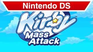 Nintendo DS - Kirby Mass Attack E3 Trailer