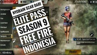 NYOBAIN SKIN SCAR SPECIAL FORCES ELITE PASS SEASON 9 DI FREE FIRE_GARENA FREE FIRE INDONESIA