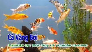 Cá Vàng Bơi Karaoke Beat Chuẩn - Karaoke cho thiếu nhi