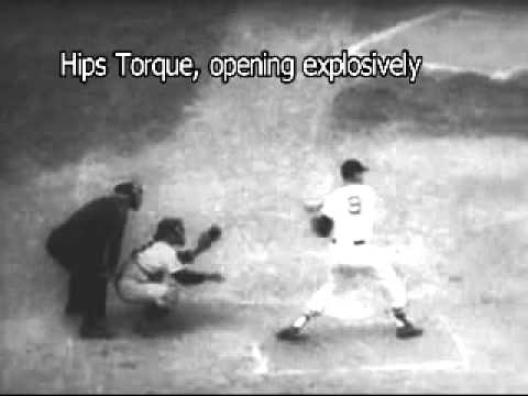 ted williams swing in slow motion.mp4