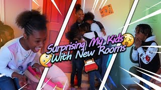 Surprising My Kids With Brand New Rooms!