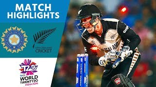 India Skittled for 79 in Opening Match   New Zealand vs India   ICC Men's #WT20 2016 - Highlights