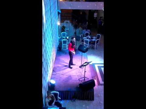 Restaurant Shabada | 15.02.2014 | Nodar Revia live (Леонид Агутин - Игрушки)