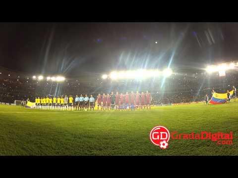 Así se escuchó el Himno Nacional de Venezuela en el Cachamay | GradaDigital.com [26/03/2013]