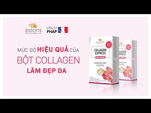 Mức độ hiệu quả của bột Collagen làm đẹp da?