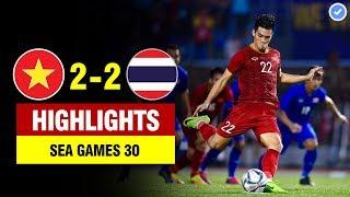 Highlights Việt Nam 2-2 Thái Lan | Tiến Linh lập cú đúp siêu đẳng-U22 VN tiễn Thái Lan về nước sớm