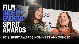 Gemma Chan & Molly Shannon Announce the 2019 Spirit Award Nominees!