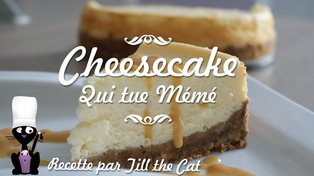 Recette du Cheesecake qui tue Mémé
