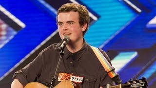 Curtis Golden's audition - Christina Aguilera's Candyman - The X Factor UK 2012