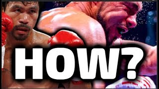 How a 40 Year Old MANNY PACQUIAO still BEATS much YOUNGER FIGHTERS!