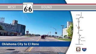 Oklahoma Highway 66 - Oklahoma City to El Reno - Route 66    Drive America's Highways 🚙