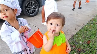 Baby's First Halloween Trick Or Treating