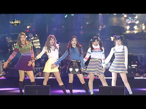 [MMF2016] Red Velvet - Russian Roulette, 레드벨벳 - 러시안 룰렛, MBC Music Festival 20161231
