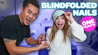 Nail Tech Controls My Acrylic Nails BLINDFOLDED *30 DAY CHALLENGE*💅🏼  Piper Rockelle